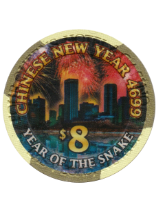 4 Queens Chinese New Year Snake $8