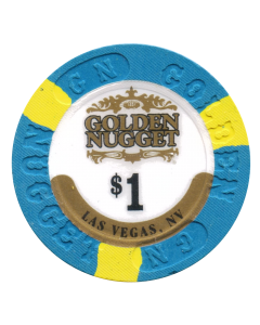 Golden Nugget $1 house v4367 CG013084 Current LOW UV or CG009661 Obsolete HIGH UV