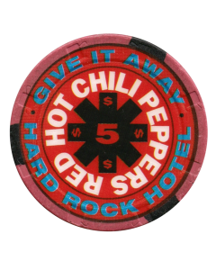 Hard Rock Red Hot Chili $5