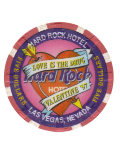 Hard Rock Valentines 97 $5