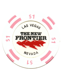 The New Frontier $1 House Chip 1998